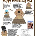 Groundhog Day Poster Worksheet   Free Esl Printable Worksheets Made | Free Printable Worksheets For Groundhog Day
