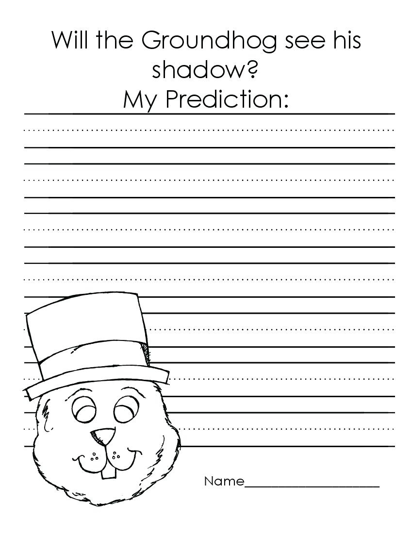 Groundhog Day Worksheets – Confrariadacarne.club - Free Printable | Free Printable Worksheets For Groundhog Day