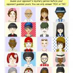 Guess Who Boardgame With 20 Characters Worksheet   Free Esl | Guess Who Printable Worksheets