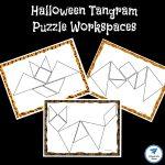 Halloween Themed Printable Tangram Puzzles   Jdaniel4S Mom | Printable Tangram Worksheets