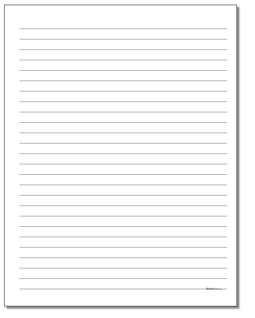 Handwriting Paper   Free Printable 1St Grade Handwriting Worksheets