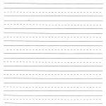 Handwriting Practice Sheet | 1St Grade Handwriting | Writing | Printable Blank Handwriting Worksheets