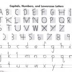 Handwriting Without Tears Letter Formation Charts  Manuscript | Handwriting Without Tears Worksheets Free Printable