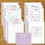 Happiness Worksheet Printables   Brights   12 Pages   8.5X11 Inch | Happiness Printable Worksheets