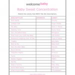 High Quality Free Baby Shower Games Printouts   Ideas House Generation | Free Baby Shower Games Printable Worksheets