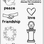 Honoring Martin Luther King, Jr (And A Freebie!)   The Kindergarten | Free Printable Martin Luther King Worksheets For Kindergarten