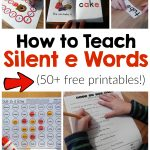 How To Teach Magic E Words   The Measured Mom | Silent E Printable Worksheets