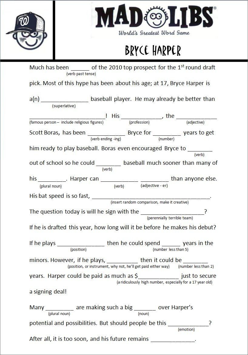 Image Result For Free Adult Mad Libs Funny | Job Related | Mad Libs | Funny Mad Libs Printable Worksheets