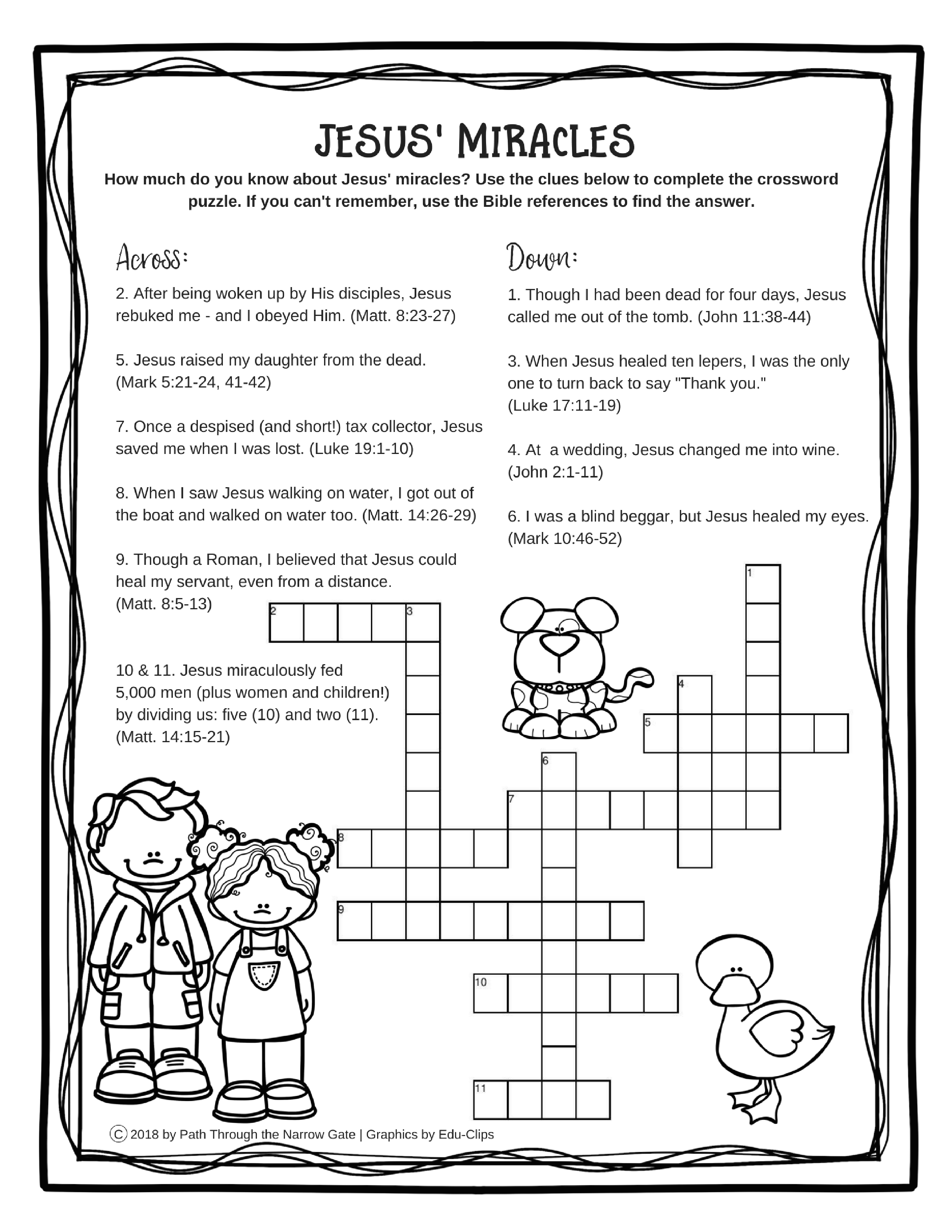 Image Result For Worksheet Miracles Of Jesus   Psw & Bible   Printable Worksheets Miracles Jesus