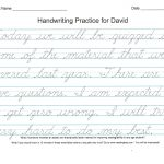 Improve Handwriting Worksheets – Shoppingfoorme.club | A To Z Teacher Stuff Tools Printable Handwriting Worksheet Generator