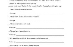 4Th Grade Printable Worksheets Language Arts