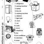 Inventions Around Us Worksheet   Free Esl Printable Worksheets Made | Inventions Printable Worksheets