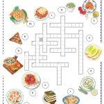 Italian Food Worksheet   Free Esl Printable Worksheets Madeteachers | Italian Worksheets For Beginners Printable