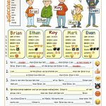 It's Cool To Be Different   Comparative Worksheet   Free Esl | Comparative Worksheets Printable