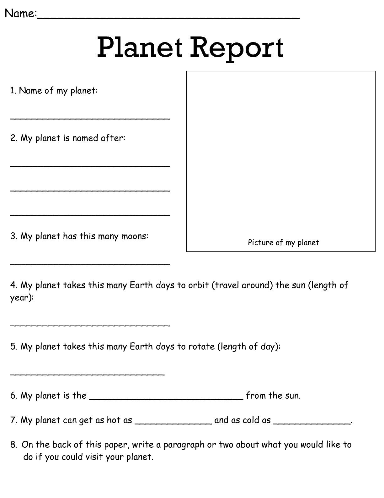 Job Worksheets 5Th &6Th   Science Worksheets Science Worksheets   Science Worksheets For 4Th Grade Free Printable