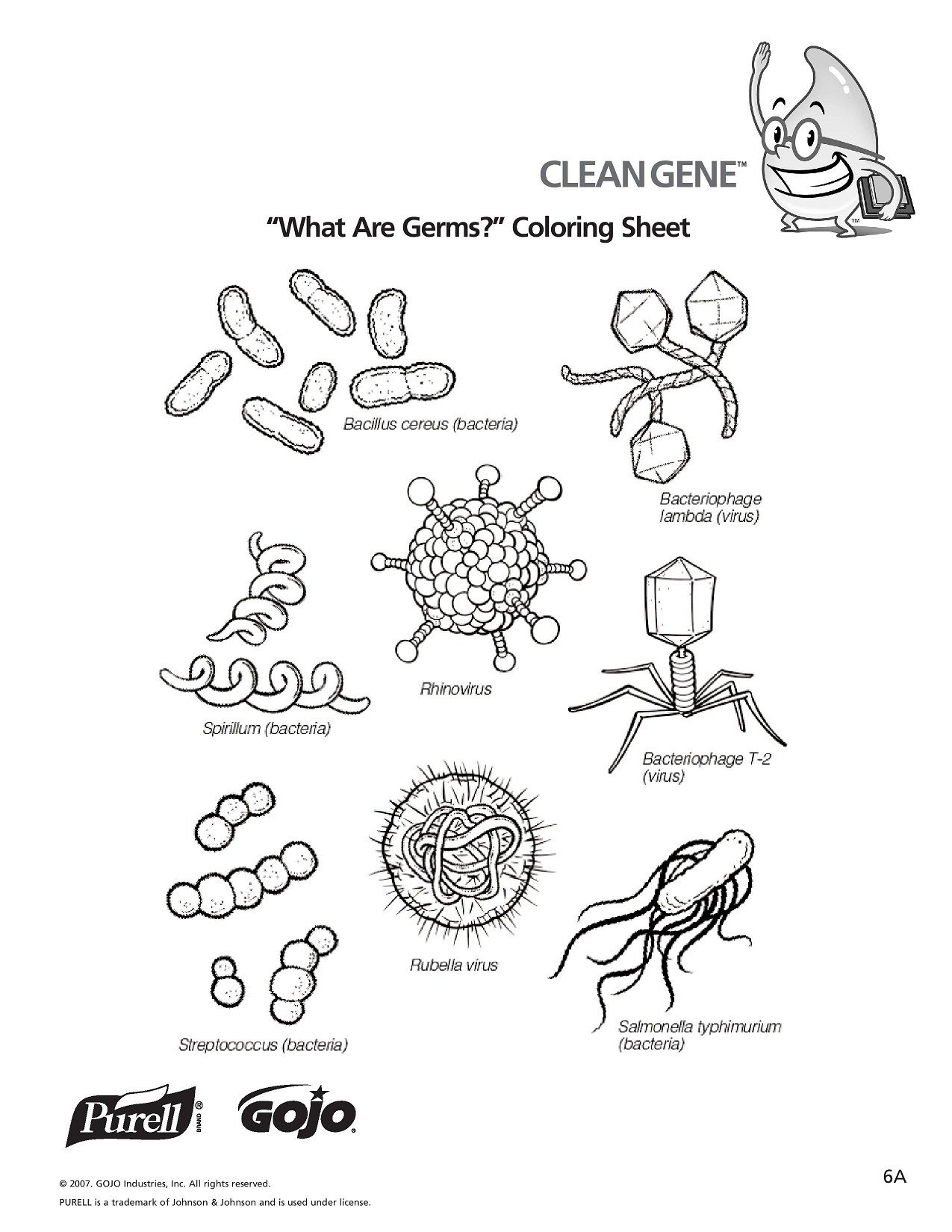 K 5 Hand Hygiene Lesson Plans And Worksheets Lesson 6 Page 1 | K-5 | Germs Worksheets Printables