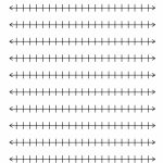 Kids : Integer Number Line Integer 0 20 1 20 Number Line Number Line | Free Printable Number Line Worksheets