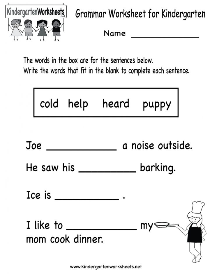 Free Printable English Conversation Worksheets