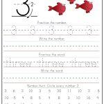 Kindergarten Number Writing Worksheets   Confessions Of A Homeschooler | Free Printable Number 3 Worksheets