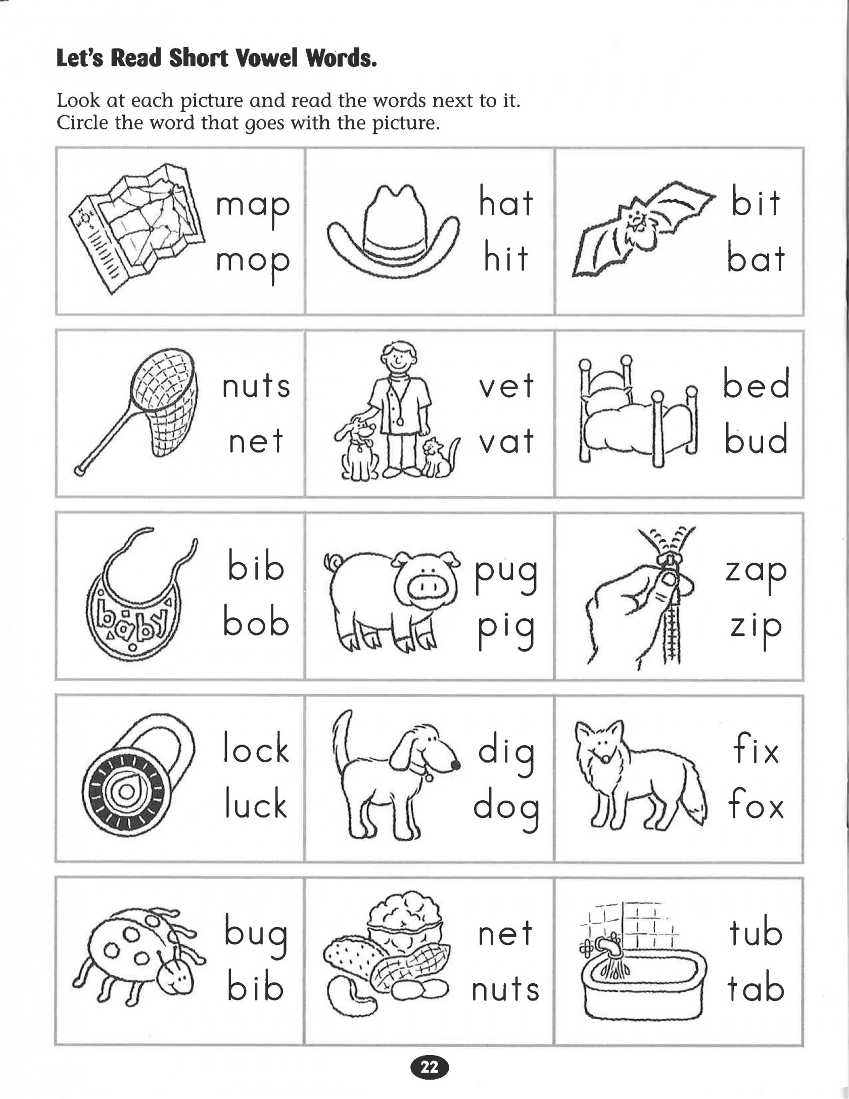 Kindergarten Phonics Worksheets Inspirational Kindergarten Free | Kindergarten Worksheets Free Printables Phonics