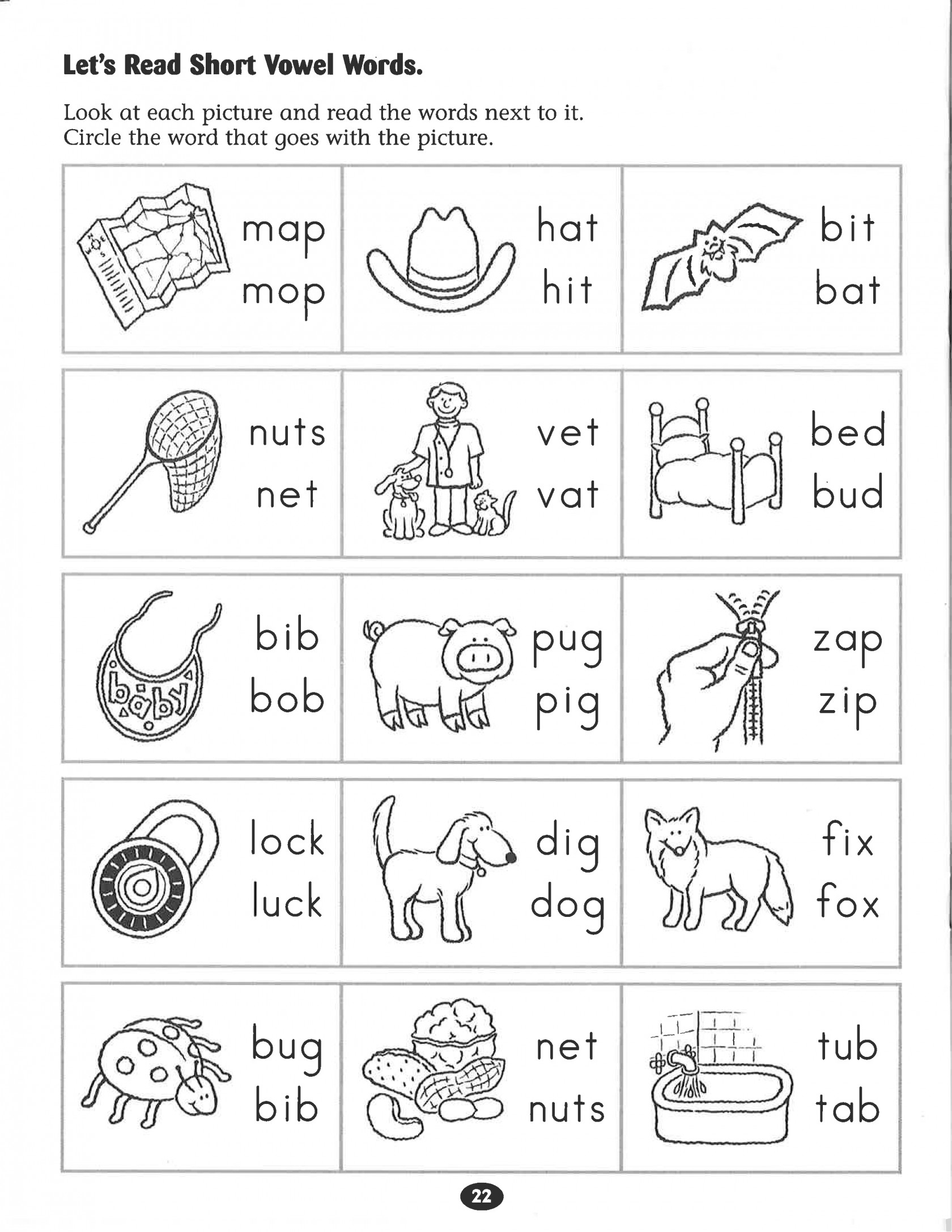 Kindergarten Phonics Worksheets Inspirational Kindergarten Free | Short A Printable Worksheets