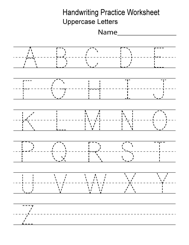 Kindergarten Worksheets Pdf Free Download Handwriting | Learning | Printable Preschool Worksheets Pdf