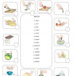 Kitchen Verbs | Schooling | Verb Worksheets, English Resources | Cooking Verbs Printable Worksheets