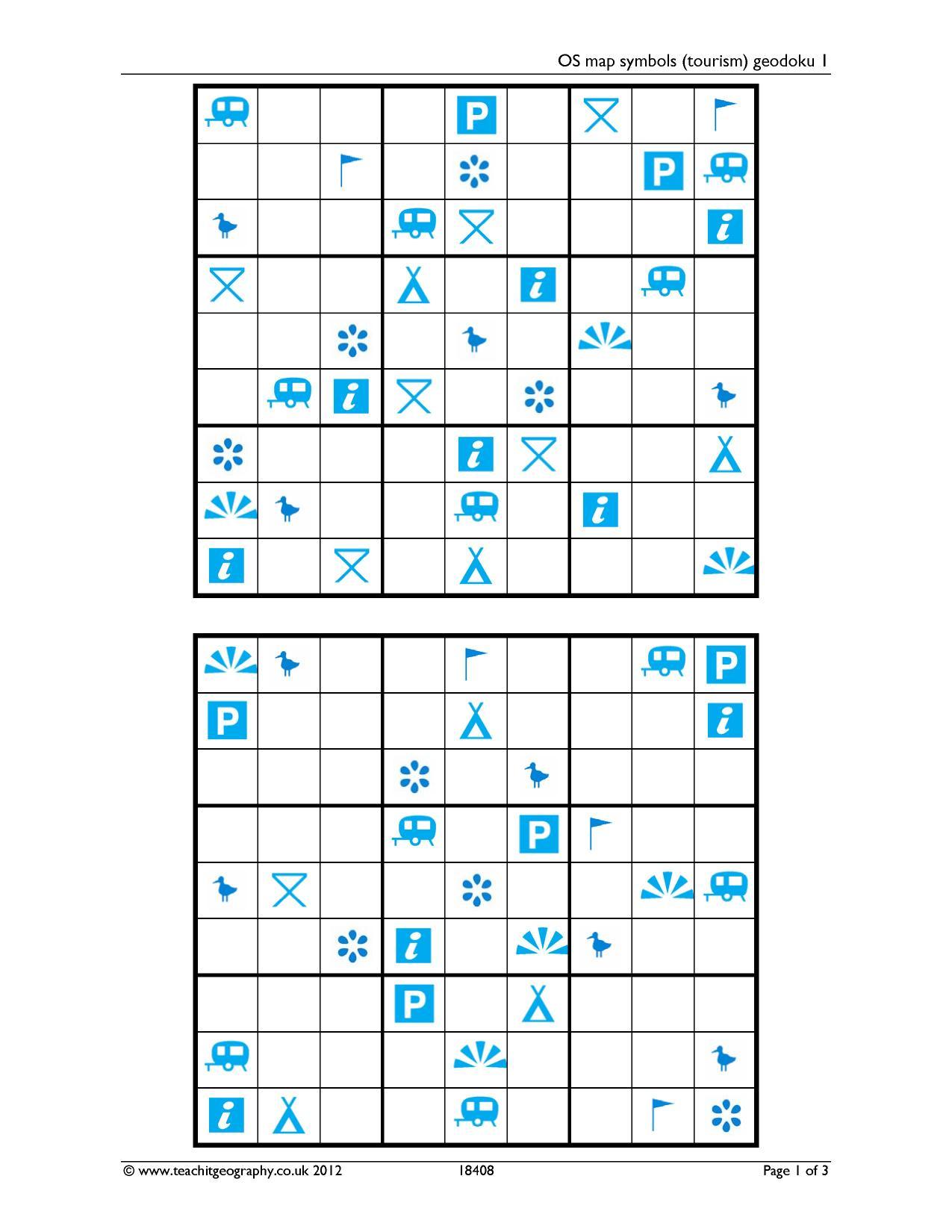 Ks3 | Map Skills | Teachit Geography | Geography Worksheets Ks3 Printable