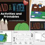 Landforms And Bodies Of Water Freebie!   The Lesson Plan Diva | Free Printable Landform Worksheets