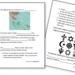 Learning About Islam   Free Worksheets And Resources For Kids | Religious Worksheets Printable