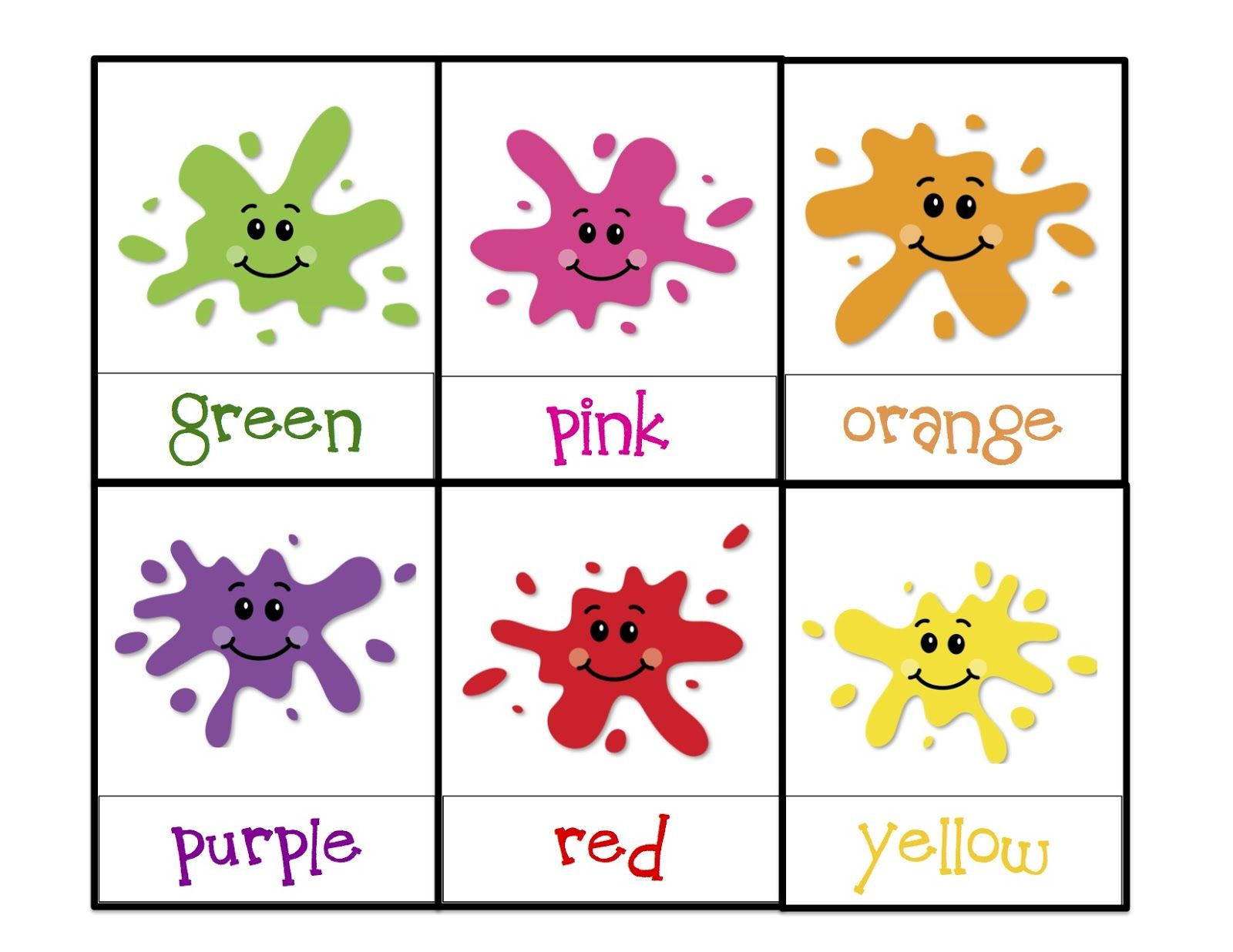 Learning Colors Printable | Children's Activities | Toddler Color | Learning Colors Printable Worksheets