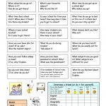 Let's Talk About School Worksheet   Free Esl Printable Worksheets | Free Printable Esl Worksheets For High School