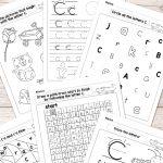 Letter C Worksheets   Alphabet Series   Easy Peasy Learners | Free Printable Letter C Worksheets