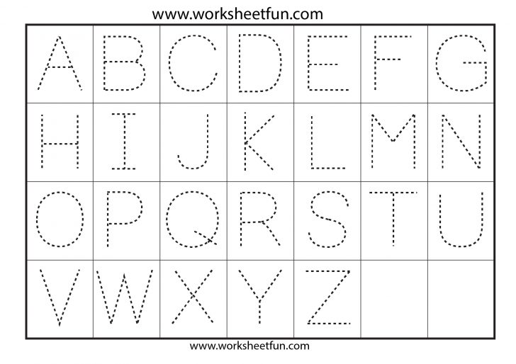 Letter Tracing Worksheets Free Printable