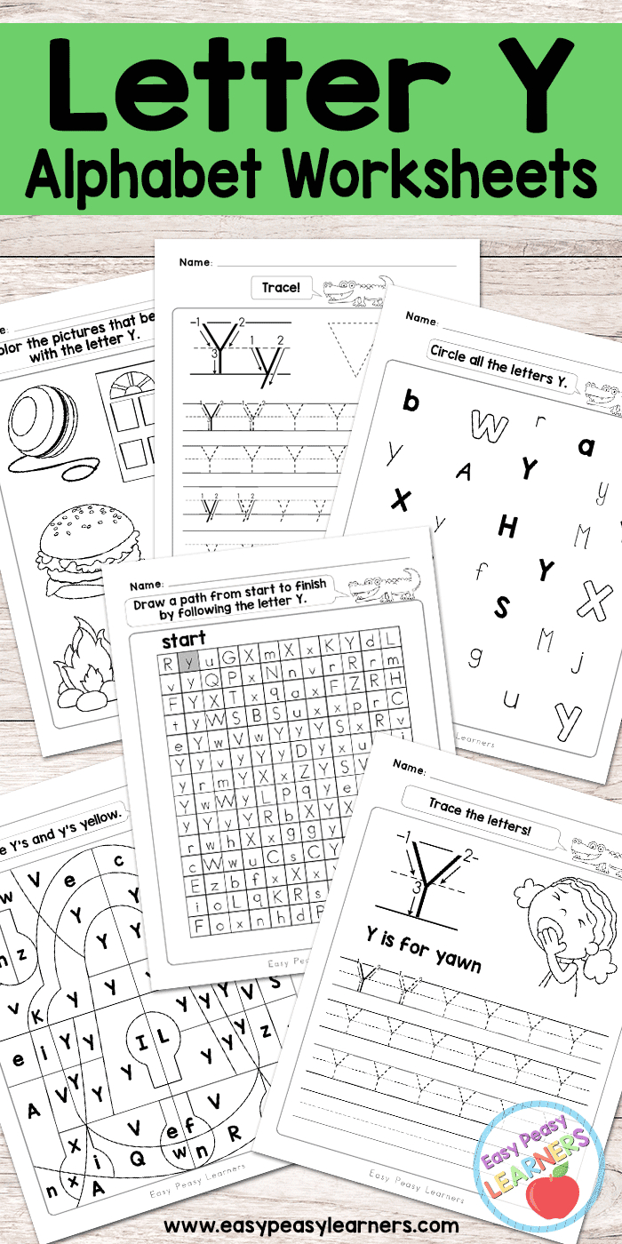 Printable Letter Worksheets