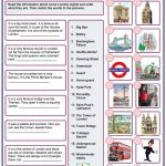 London Worksheet   Free Esl Printable Worksheets Madeteachers | London Worksheets Printable