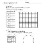 Make A Graph Worksheet   Free Printable Educational Worksheet | Free Printable Pie Graph Worksheets