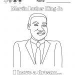 Martin Luther King Jr Coloring Pages | Martin Luther King Coloring | Free Printable Martin Luther King Worksheets For Kindergarten
