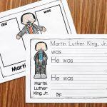 Martin Luther King Kindergarten Printables   Simply Kinder | Free Printable Martin Luther King Jr Worksheets For Kindergarten