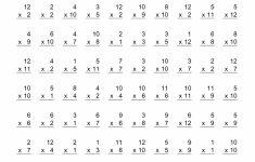 Math Facts Worksheets Printables