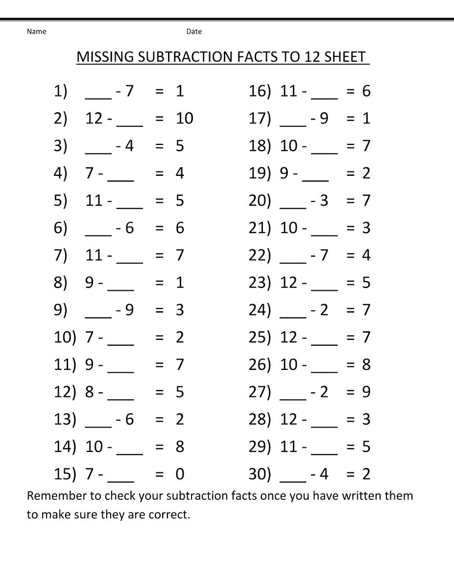 Math Worksheet: 2Nd Grade Math Pre Assessment Division Word Problems | Math 4 Today Grade 4 Printable Worksheets