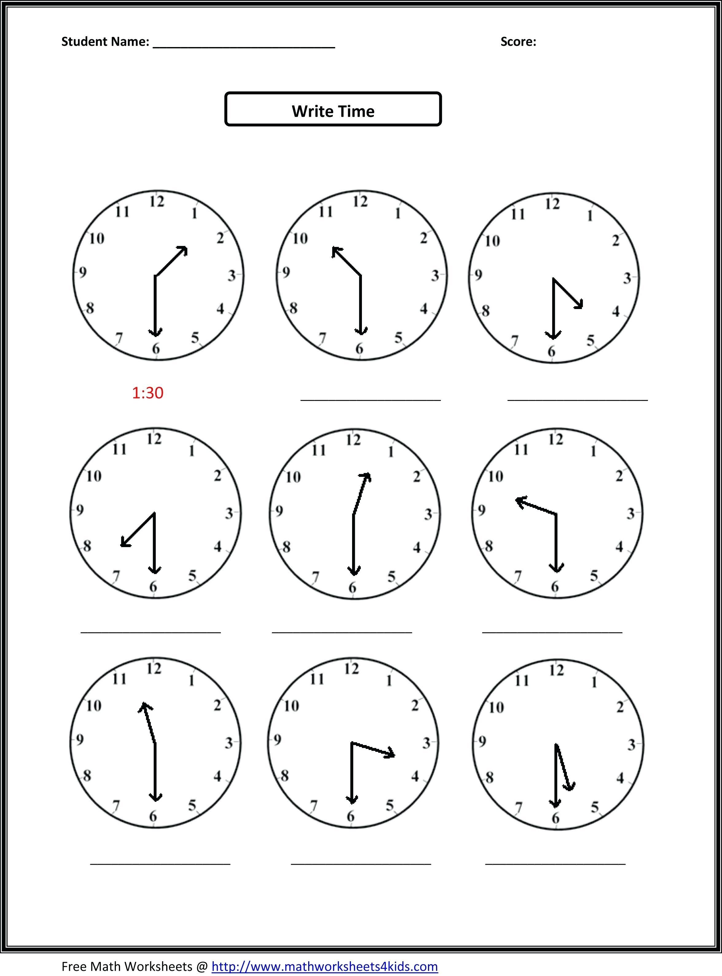 Math Worksheets 1St Grade Free Printable Common Core First | Tiktokcook | Printable Math Worksheets Www Mathworksheets4Kids Com
