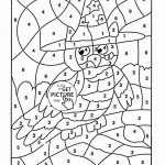 Math Worksheets Colornumber 4Th Grade Coloring Pages Fresh – Free | Printable Color By Number Math Worksheets