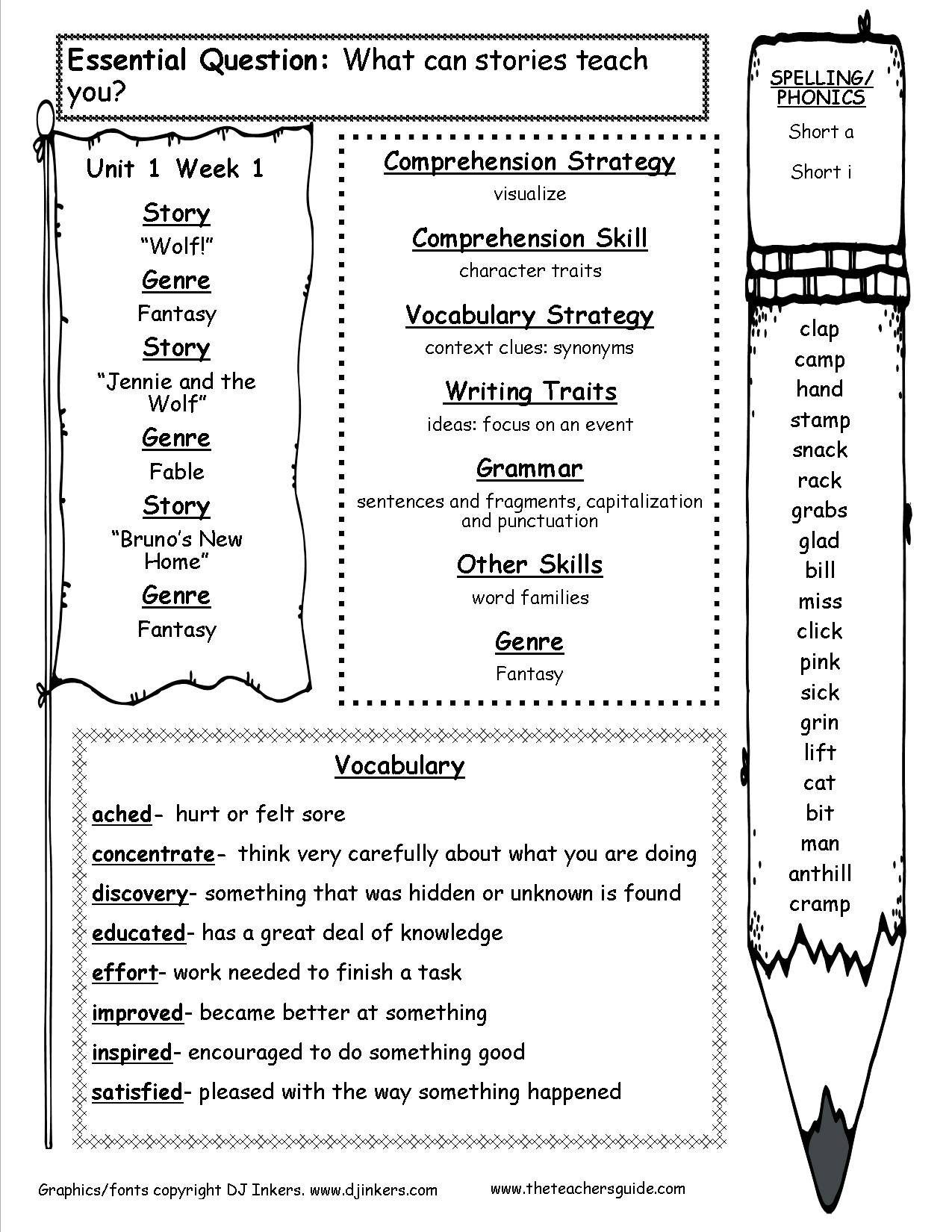 Worksheets Pages : High School English Worksheets ...