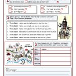 Melissa's Trip To London Worksheet   Free Esl Printable Worksheets | London Worksheets Printable
