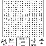 Middle School Free Printable Halloween Math Worksheets For Pre | Free Printable Math Word Search Worksheets
