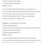 Mini Conversation Lesson On Korean Chuseok Worksheet   Free Esl | Printable Korean Language Worksheets