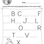 Missing Letter Worksheets (Free Printables)   Doozy Moo | Fill In The Missing Letters In Words Printable Worksheets