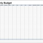Monthly Budget Spreadsheet Best Free Dave Ramsey Excel Download | Free Printable Monthly Budget Worksheets