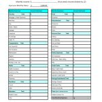Monthly Expenditure Worksheet   Karis.sticken.co | Monthly Spending Worksheet Printable